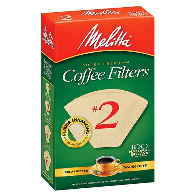 Melitta 100ct Coffee Filters - Natural Brown