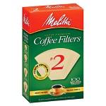 Melitta Natural Brown 4 Coffee Filter 100ct Target
