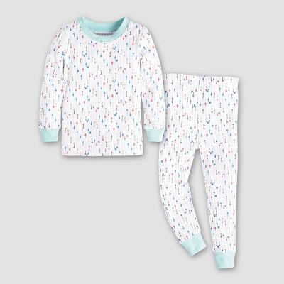 Burt's Bees Baby This Way Pajama Set - Blue Sky 12M