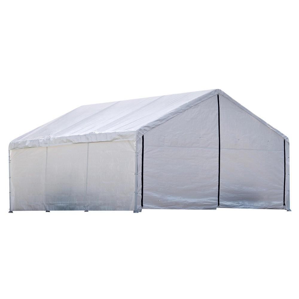 18'x30' Canopy Enclosure Kit 1830 - White - Shelterlogic