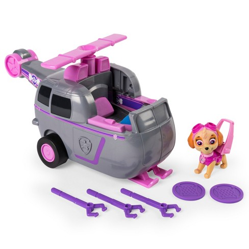 Paw Patrol Flip and Fly Vehicle Assortment - Skye - image 1 of 10