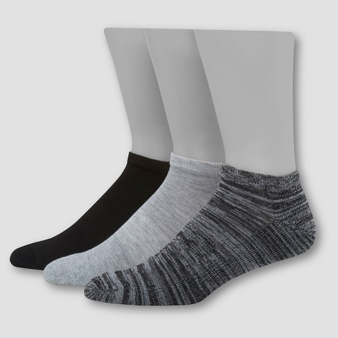 Hanes 1901 Men's Heritage Collection Low Cut Athletic Socks 3pk - 6-12 - image 1 of 2