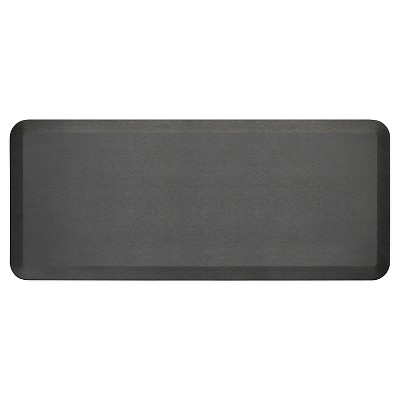 Black Midnight Newlife Anti-Fatigue Kitchen Mat (20 X48 )Gelpro