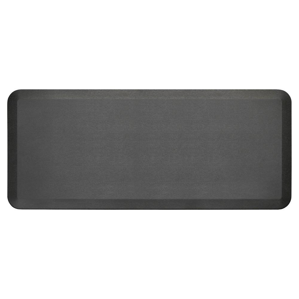 "Image of ""Black Midnight Newlife Anti-Fatigue Kitchen Mat (20""""X48"""") Gelpro"""