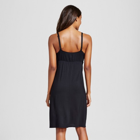 f82cea2884b Maternity Nursing Empire Nightgown - Gilligan &... : Target