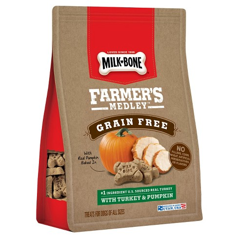 Milk-Bone Farmers Medley, Grain Free with Turkey & Pumpkin 12 oz. - image 1 of 1