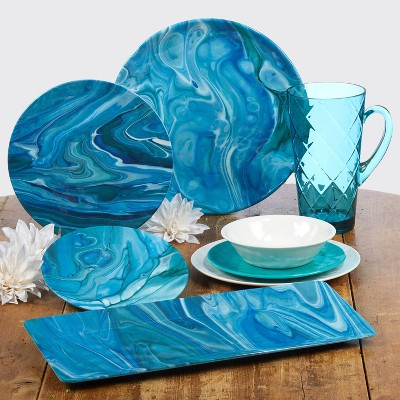 Fluidity Melamine Dinnerware Collection - Certified International