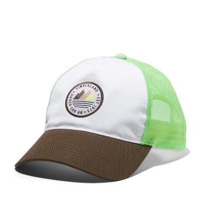 Timberland Women's Mountain-Logo Trucker Hat