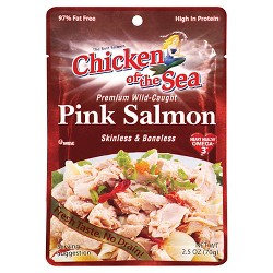 Chicken of the Sea Pink Salmon 2.5 oz