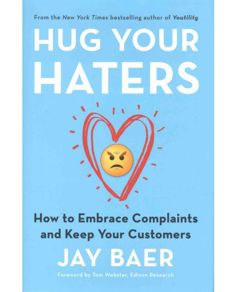Hug Your Haters : How to Embrace Complaints and Keep Your Customers (Hardcover) (Jay Baer) - image 1 of 1
