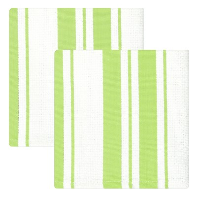2pk Green Dish Cloth (13 x13 )- MUkitchen