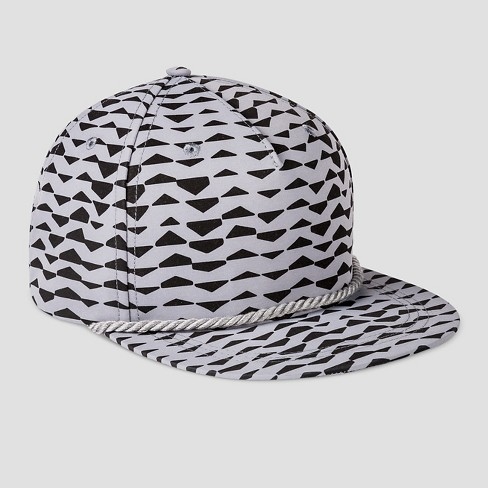 Boys' Printed Baseball Hat - Art Class™ Gray One Size - image 1 of 2
