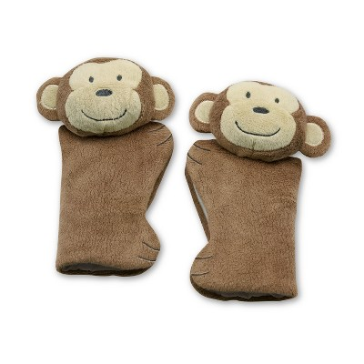 Go by Goldbug Monkey Car Seat Strap Cover