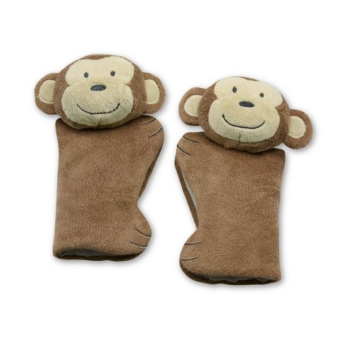 Go By Goldbug Monkey Car Seat Strap Cover Target