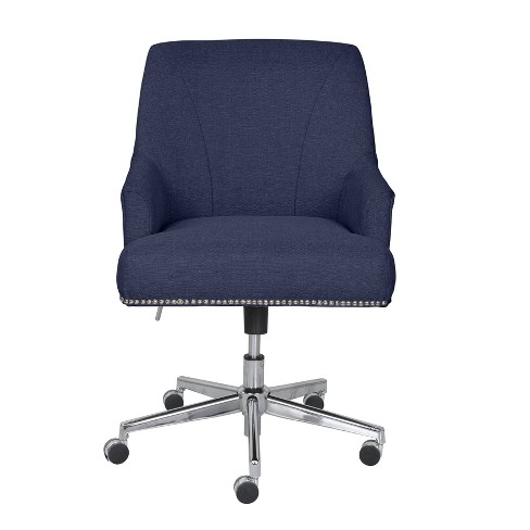 Style Leighton Home Office Chair Sanctuary Blue Serta Target