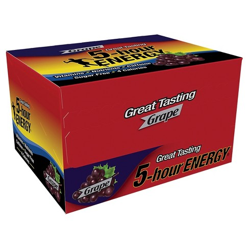 5 Hour Energy Dietary Supplement Shot - Grape - 12ct - image 1 of 2