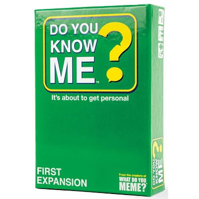 Do You Know Me? Expansion Pack #1