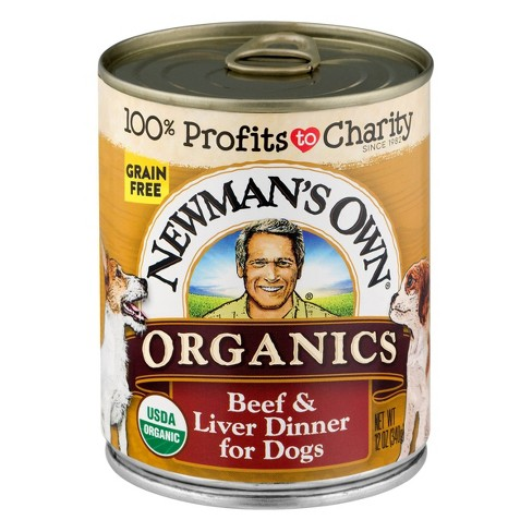 Newman's Own Organics Grain-Free Beef & Liver Wet Dog Food - 12oz - image 1 of 1