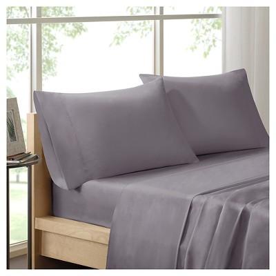 Liquid Cotton Pillowcases (King)Gray
