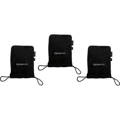Gator GFW-MICPOUCH-3PK Soft Bag for Studio Mics 3-Pack
