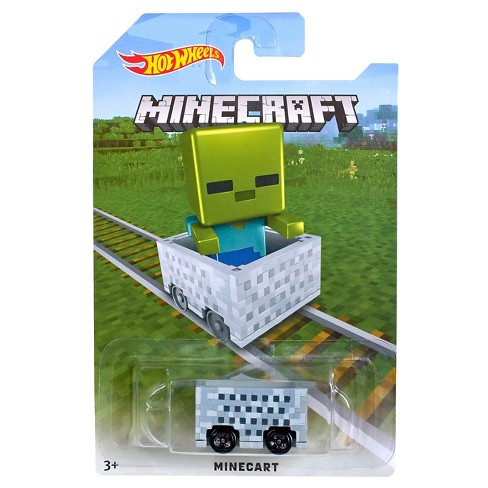 Hot Wheels Minecraft Zombie Mine Cart - image 1 of 1