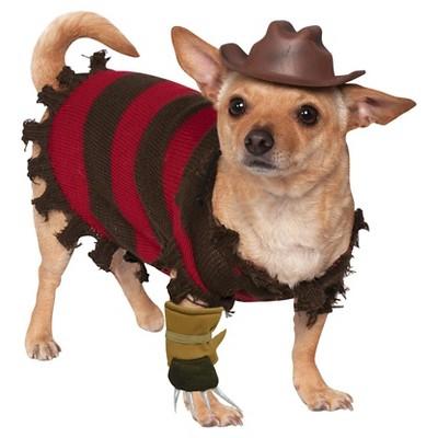 Freddy Krueger Dog Costume - Large