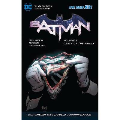 Death of the Family - (Batman (DC Comics Paperback)) by  Scott Snyder (Paperback)