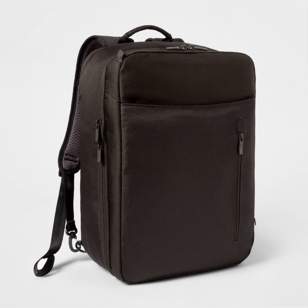 """Image of """"18"""""""" Small Hybrid Backpack Black - Made By Design"""""""