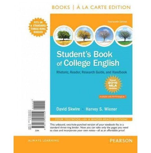 Student's Book of College English : Rhetoric, Reader, Research Guide, and Handbook, MLA Update Edition - image 1 of 1