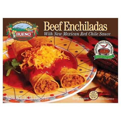 Bueno Red Chile Frozen Beef Enchiladas - 9oz