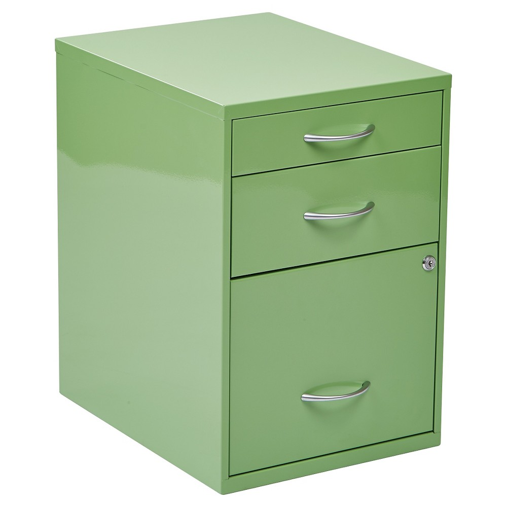 Osp Designs Storage File Cabinet - Green
