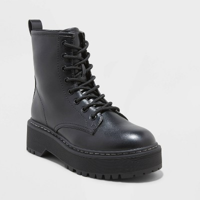 Women's Erin Lace-Up Combat Boots - Universal Thread™
