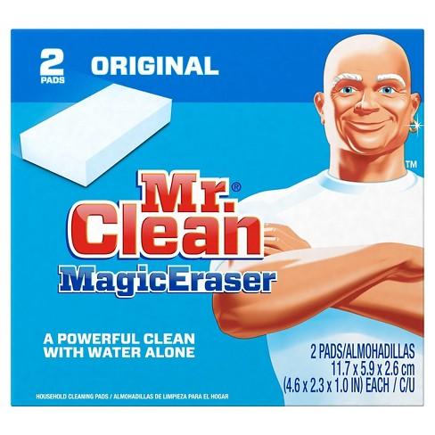 Mr. Clean Magic Eraser Original Cleaning Pads With Durafoam - 2ct : Target
