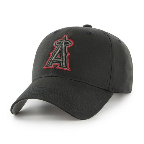 MLB Los Angeles Angels Classic Black Adjustable Cap/Hat by Fan Favorite - image 1 of 2