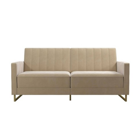 Skylar Coil Futon Modern Sofa Bed And