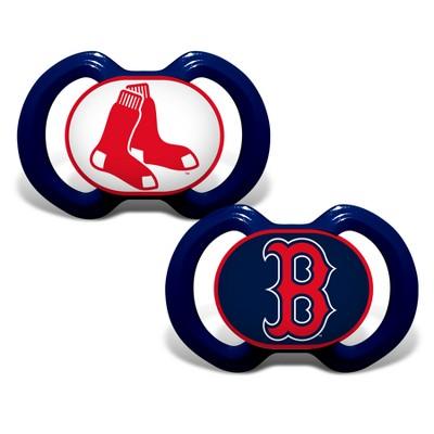 Boston Red Sox 2pk Pacifier Set