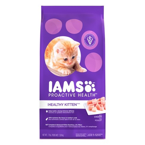 IAMS Proactive Health Kitten Dry Cat Food - image 1 of 8