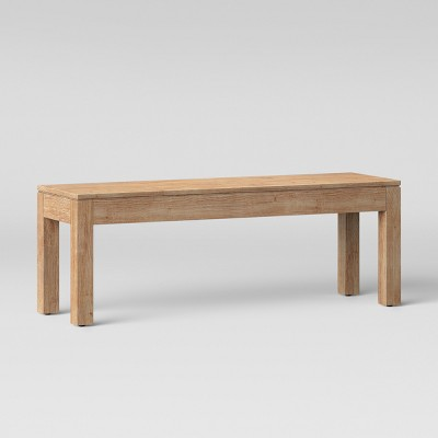 50  Grafton Dining Bench Brown - Threshold™
