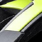 Halo Matte Flourescent Yellow/Black