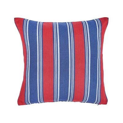 "C&F Home 18"" x 18"" Gideon Stripe Americana July 4th Pillow"