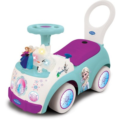 Kiddieland 054734 Toys Frozen Magical Adventure Musical Ride On Push Toy