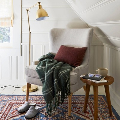 Reading Nook with Trendy Fall Décor style by Emily Henderson