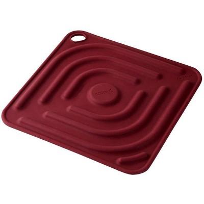 Cookduo Grab & Grip Pot Holder/Trivet - Red
