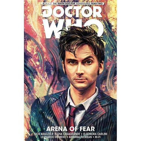 Doctor Who: The Tenth Doctor Volume 5 - Arena of Fear - (Doctor Who New Adventures)by  Nick Abadzis - image 1 of 1