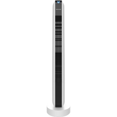 "Frigidaire 36"" Oscillating Tower Portable Fan With Remote Control White"
