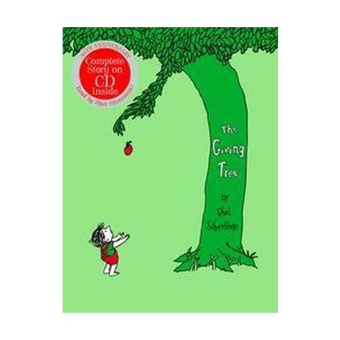 The Giving Tree with CD - 40 Edition by  Shel Silverstein (Mixed media product) - image 1 of 1