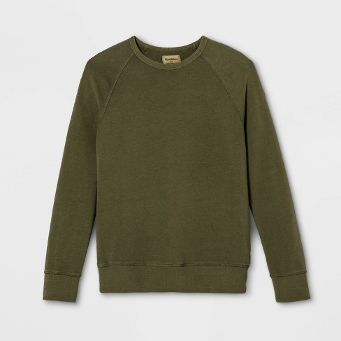 Men's Regular Fit French Terry Crew Neck Sweatshirt - Goodfellow & Co™ - image 1 of 1