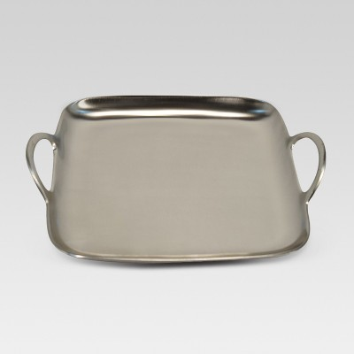 Square Metal Tray - Silver - Project 62™
