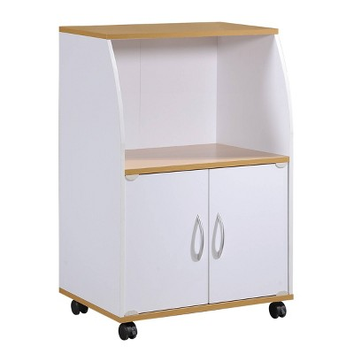 Mini Kitchen Cart White - Hodedah