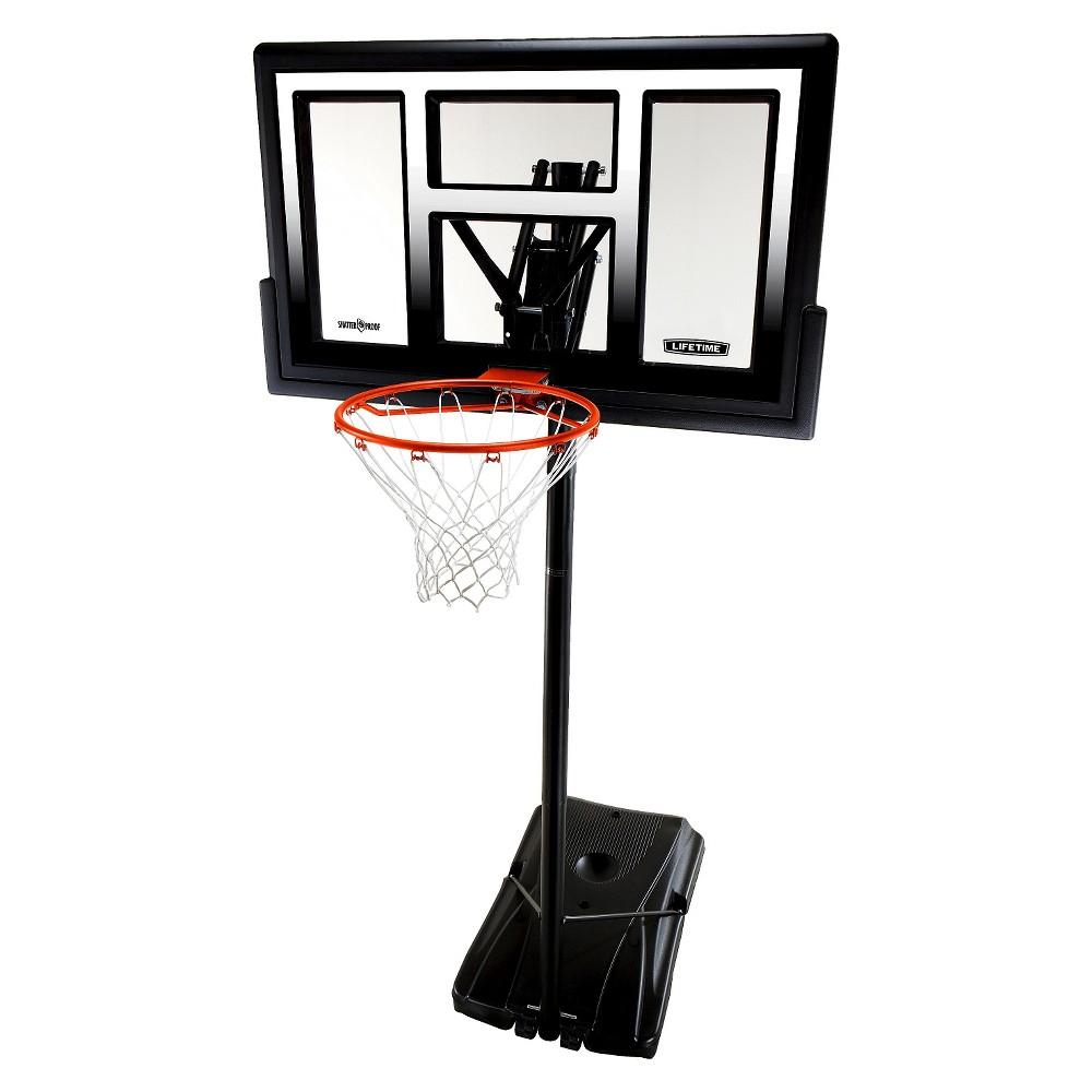 Lifetime Courtside Fusion 50 Basketball Hoop